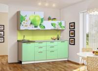 Набор мебели для кухни Диана 8 (Яблоко)  Комплектация 2000