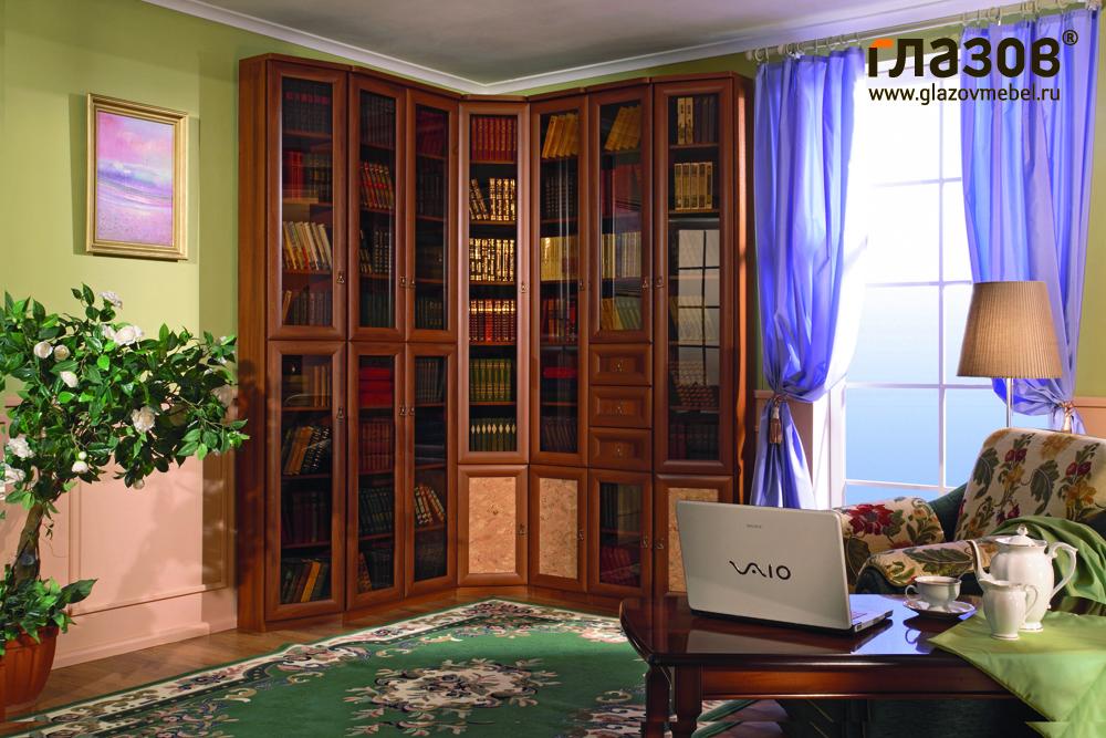Книжный шкаф марракеш (глазовская мф г.глазов) - интернет-ма.