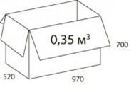 Эконом стандарт размер упаковки