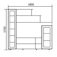 Набор мебели для гостиной Александра-2