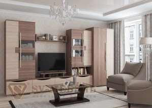 Модульная гостиная Нота 26 (СВ мебель г.Пенза)