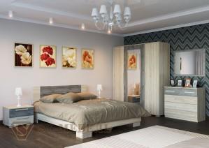 Спальня Лагуна 2 (СВ мебель г.Пенза)