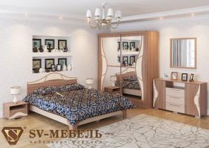 Спальня Лагуна 5 (СВ мебель г.Пенза)