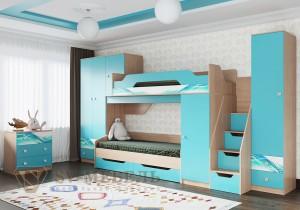Модульная детская Сити 1 (СВ мебель г.Пенза)