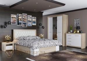 Спальня Лагуна 6 (СВ мебель г.Пенза)