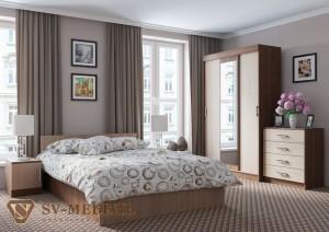 Спальня Эдем 5 (СВ мебель г.Пенза)