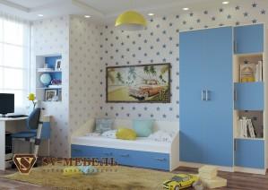 Модульная детская Бэмби (СВ мебель г.Пенза)