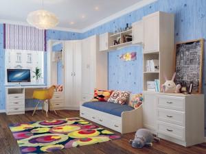 Модульная детская Вега (СВ мебель г.Пенза)